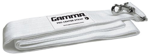 Gamma Pro Center Strap, White