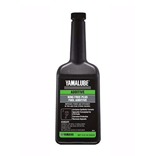 YAMAHA ACC-RNGFR-PL-12 Yamalube Ring-Free Fuel Additive