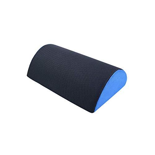 AFFASFSAFS Almohada de Espuma viscoelástica para reposapiés de Oficina - Elevación de pies Debajo del Escritorio - Reduce el Dolor de Espalda/Rodillas y Mejora la circulación - con Funda extraíble