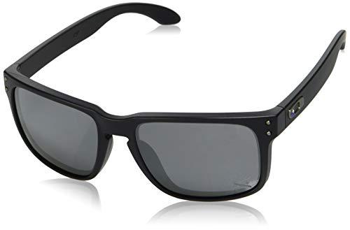 Oakley Sonnenbrille Holbrook, Gafas de Sol Polarizadas Unisex, Morado (Violet Iridium), 55 mm