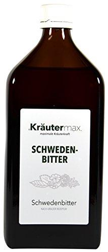 Kräutermax Schweden Bitter Kräutermischung 1 x 500 ml Schweden Kräuter zum Trinken