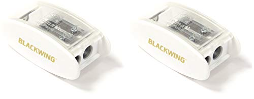 Blackwing White Long Point Sharpener(2-Pack)