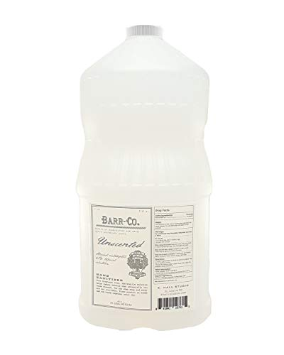 Barr Co Unscented Hand Sanitizer - 1 Gallon (Alcohol Based)
