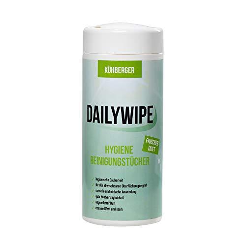 DailyWipe Reinigungstücher feucht Hygiene - Allzweck Feuchttücher in Spenderdose - schnelle Sauberkeit für jegliche Oberfläche