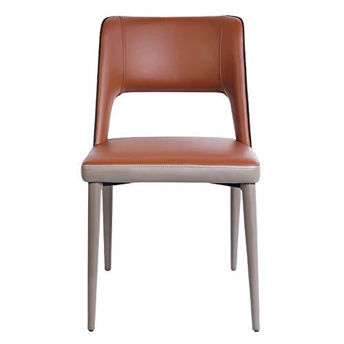 Tellgoy Sedie 1PCS Moderna Tulip Stile Sedie da Pranzo con Gambe in Legno Massello di Faggio E Seduta Imbottita Lounge Sedie da Cucina