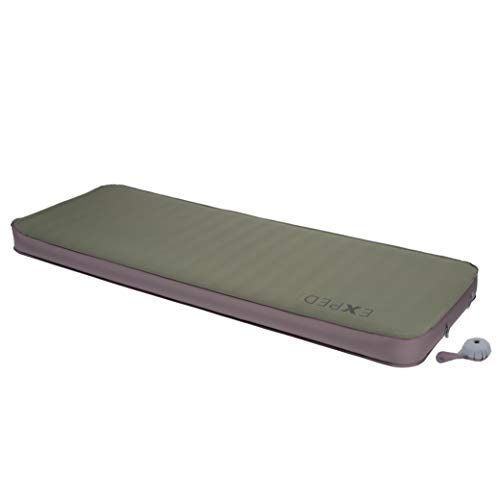 Exped Megamat 10 Insulated Self-Inflating Sleeping Pad, Green, Long Xtra Wide
