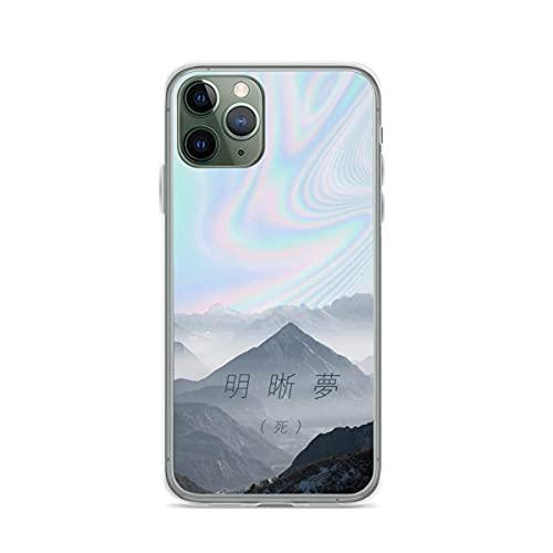 Lucid Dreaming Pure Clear Cajas del Teléfono iPhone 12/11 Pro MAX 12 Mini SE X/XS MAX XR 8 7 6 6s Plus Funda