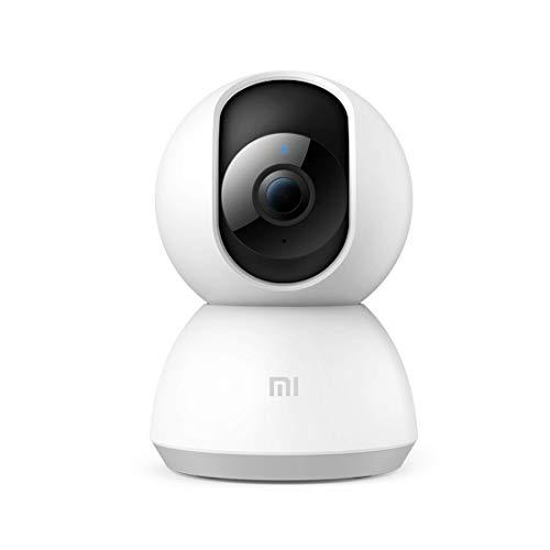 MI Wi-Fi 1080p Full HD 360° Viewing Area Smart Security Camera, White