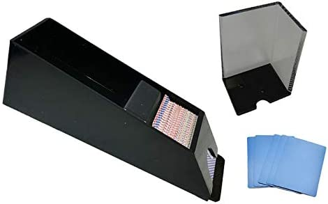 Blackjack 6 Deck Shoe Discard Tray and Cards It is very popular Blue 5 Year-end gift Cut