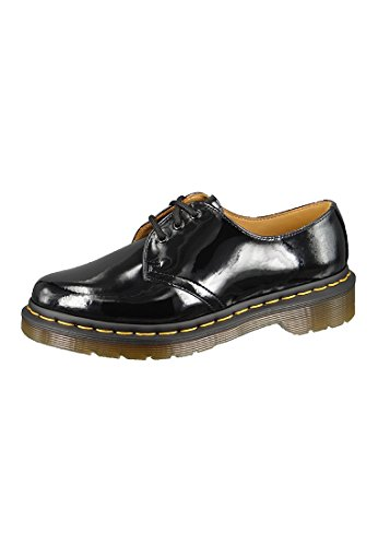 Dr. Martens Women's 1461 W Oxford,Black Patent,5 UK/7 M US