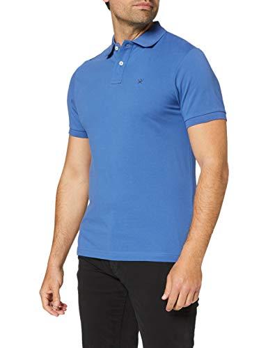 Hackett London Slim Fit Logo Camisa, 525azure Blue, XXL...