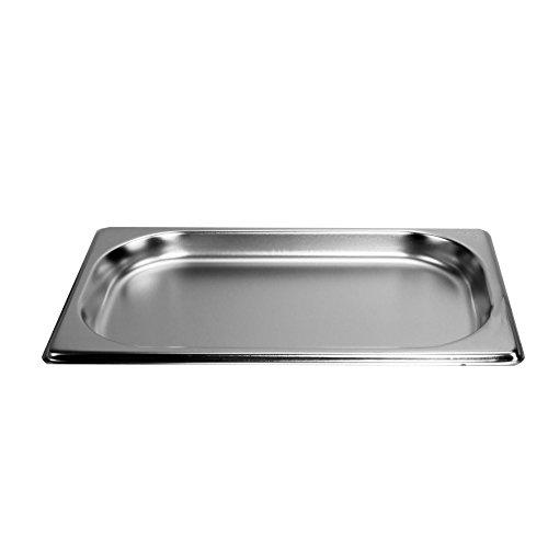 Gastronormbehälter 0,5 L 20mm Behälter 1/4 GN Edelstahl Gastro Gefäß Norm
