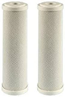 2 Pack of Compatible Filters for RV Trailer Camper Fresh Water 10 Carbon Paper Filter SHURflo 155002-43 by CFS CFS-517