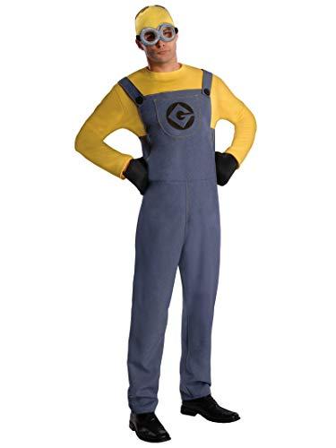 Rubie's 3887201STD - Minion Dave Dress - Adult, Verkleiden und Kostüm
