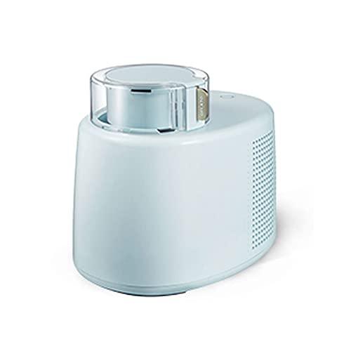 BAHAOMI Maquina Hacer Helados 500 Ml Yogur Congelado Servicio Suave Sin Preenfriamiento Máquina para Hacer Helados En El Hogar Congelador Incorporado - Fácil De Operar,Azul
