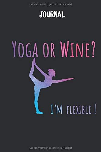 Journal Yoga Wein: kreativ Notizbuch I DIN A5 I 120 Seiten I Dot Grip I Organizer I Tagebuch I Skizzen I Handletter (Mandala Journal, Band 1)