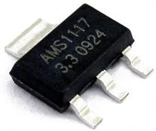 SUNKEE 10 pcs AMS1117 3.3V 1A Voltage Regulator AMS1117-3.3V
