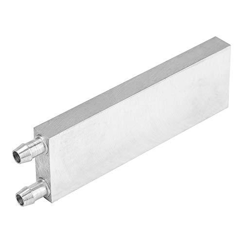Bewinner - Bloque de refrigeración de Agua de Aluminio para Sistema de disipador de Calor de Agua líquida, radiador de CPU, Bloque de refrigeración de Agua, disipador de Calor para Ordenador portátil