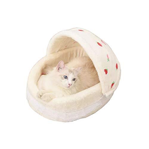 LEDDP Cama para Perros Grandes Cama para Gatos Caseta Perro Cama Mascotas Perro Cama De Gatos Cojines Gato Mantas para Gatos For Gato Mascota Red
