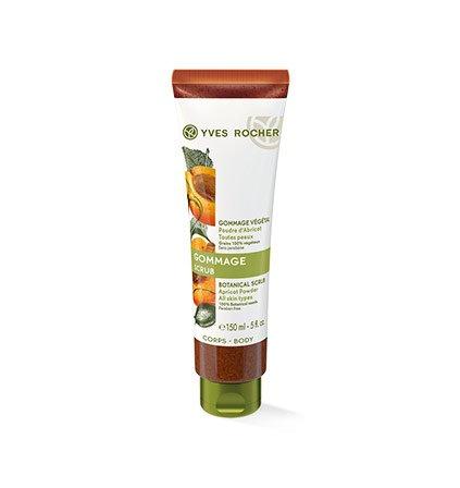 Yves Rocher PFLANZENPFLEGE KÖRPER Pflanzen-Peeling, sanftes Körper-Peeling mit Aprikose, 1 x Tube 150 ml