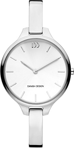 Danish Design Damen Datum klassisch Quarz Uhr mit Edelstahl Armband DZ120671