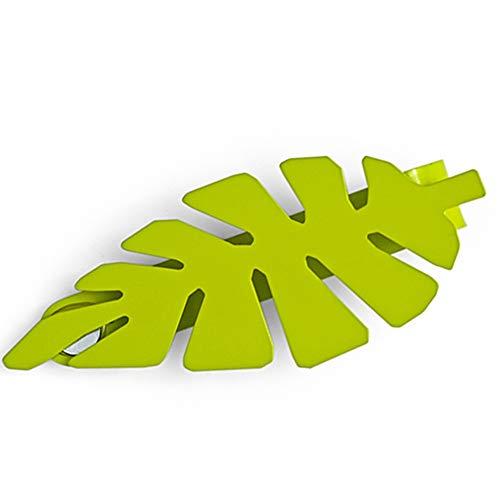 カーテンホルダー カーテンアクセサリー カーテンタッセル 房掛け Z3K マグネットクリップ ボタニカル グリーン