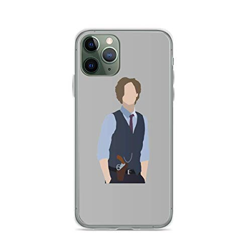 Phone Case Dr Spencer Reid Silhouette Compatible with iPhone 6 6s 7 8 X XS XR 11 Pro Max SE 2020 Samsung Galaxy Absorption Tested Shockproof