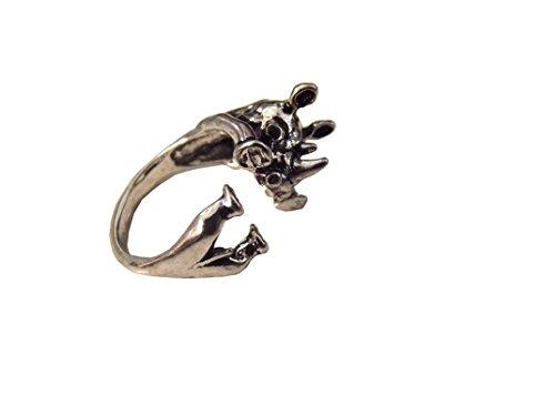 Unbekannt 3D Ring Nashorn Rhinozeros
