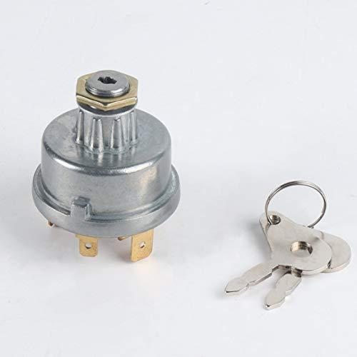 Interruptor de Encendido del Tractor, Cerradura de Encendido, arrancador 12239 para Massey Ferguson para David Brown, Funda para John Deere