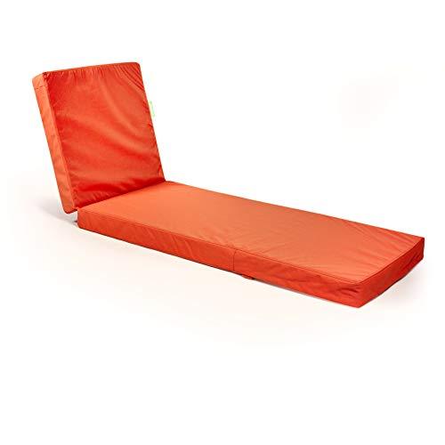 Outbag Topper Flat weerbestendig liggen oranje