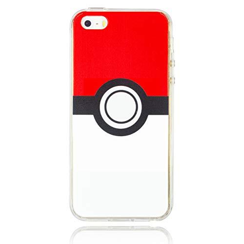 BRILA iPhone 5 5s SE case, Ball Pattern case for iPhone 5s, iPhone SE Cute case