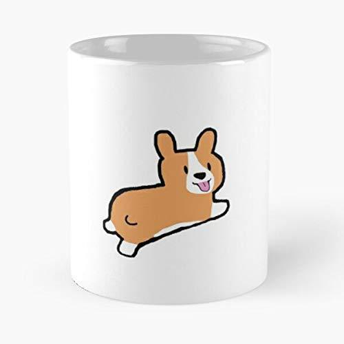 WGC My Patronus Is A Corgi Cool Dog Magliette da Donna di Alta qualit/à