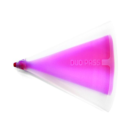 Lily cook KP5022 Poche A Douille Double en Silicone - Couleur ALEATOIRE, Autre, Noir/Marron/Rose/Violet