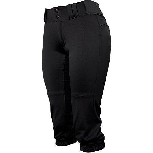 Easton Women's Prowess Knicker Fastpitch Softball Pant Black S