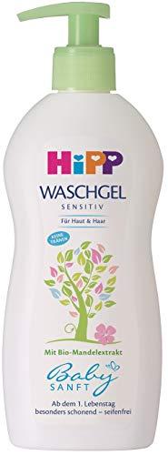 Hipp Babysanft Waschgel Haut & Haar, 400 ml