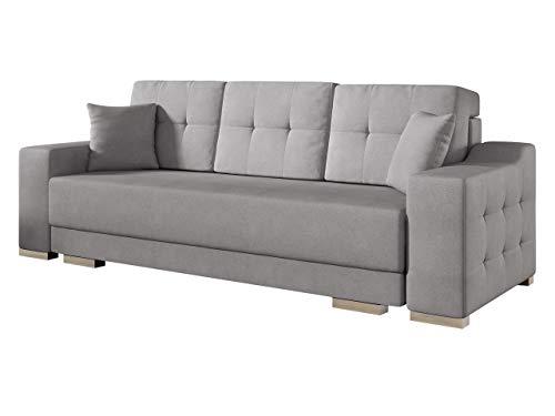 Modernes Schlafsofa Cypis Sofa mit Bettkasten und Schlaffunktion, Bettsofa, Design Schlafcouch, Wohnlandschaft, Polstersofa (Novel 11)