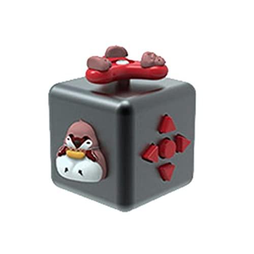 moreoustitory Weiches Material Würfel Fidget Toy Fidget Würfel Unzip Cube Dekompression Würfel Kreative Spielzeug Stress Relief Geschenk Druckentlastung Spielzeug