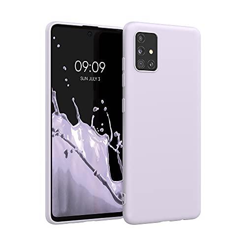 kwmobile Hülle kompatibel mit Samsung Galaxy A51 - Hülle Handyhülle - Handy Hülle in Lavendel