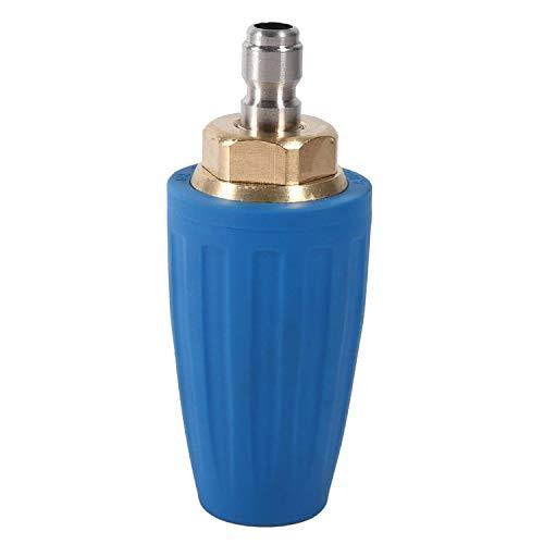 3000 psi rotante spray Turbo ugello in ottone e struttura in acciaio INOX per idropulitrice ad alta pressione pulitore pistola di 1/10,2 cm Quick Connect, 4