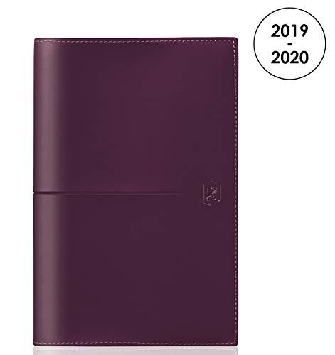 Oxford planer podróżny 2019 – 2020, od sierpnia do sierpnia, 1 tydzień na 2 stronach, format 10 x 15, fioletowy