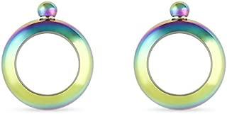 Charade: Rainbow Bracelet Flask, Set of 2