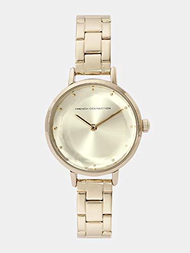 Reloj Cuarzo French Connection para Mujer con Oro Analogico Y Oro FC1275GM