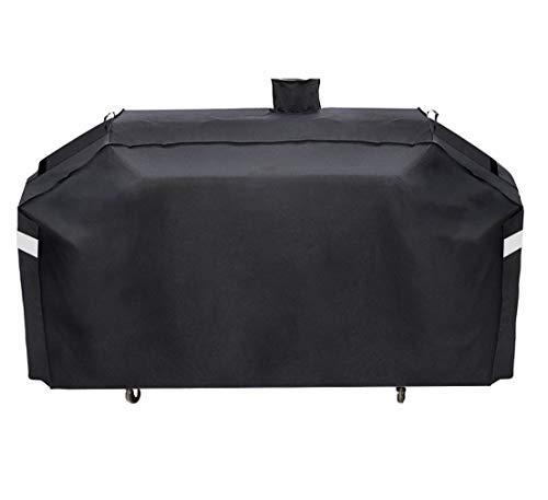 ProHome Direct GC7000 Grillabdeckung für Smoke Hollow 4-in-1 Combo Grillabdeckung und Pit Boss Memphis Ultimate Grillabdeckung, 200 cm, UV- und wasserabweisend, Schwarz