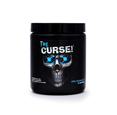 Cobra Labs The Curse The Ultimate Pre Workout 250g,Insane Energy Extreme Mental Focus Huge Muscle Pumps Great Tasting Big 50 Serves! from Cobra Labs