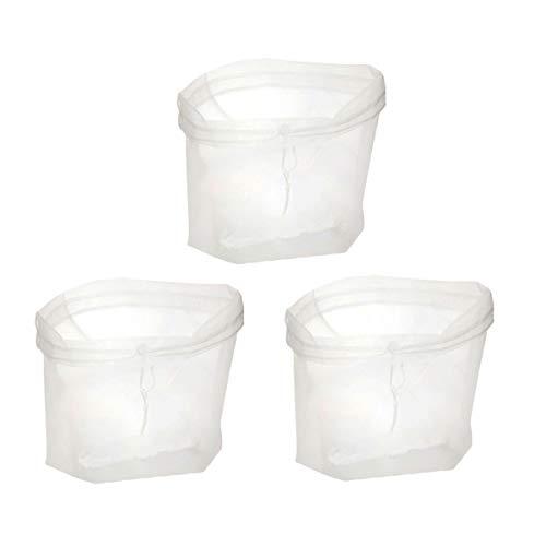 Hemoton Bolsa de filtro de leche de soja de 3 piezas bolsa...