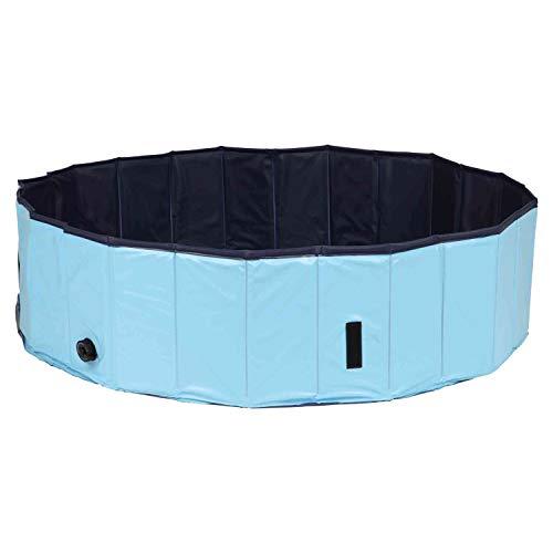 Trixie 39483 basen dla psów, Ø 160 × 30 cm, jasnoniebieski/niebieski
