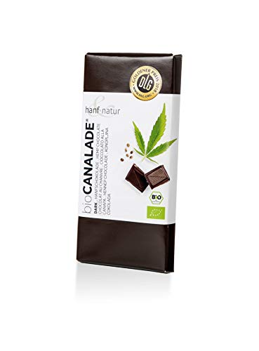 Hanf & Natur - Canalade® Dark - Hanf Schokolade - 100g