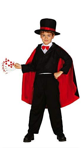 FIESTAS GUIRCA Disfraz Mago ilusionista prestidigitador Infantil Talla 10-12 años