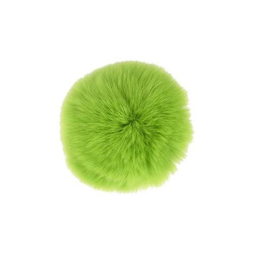 M & C Bommel, Pelz, Hase, 7 cm, Grün