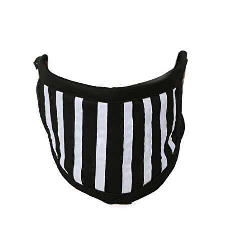 Mascara Ticci Toby Face Mask Black & White Stripes Cotton Face Mask Creepypasta Costume Accesorios Halloween